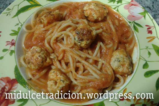 espagueti-albondigas