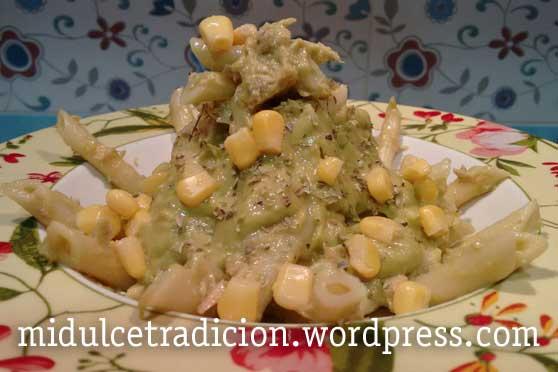pasta-guacamole