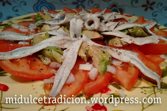 ensalada-boqurones-vinagre