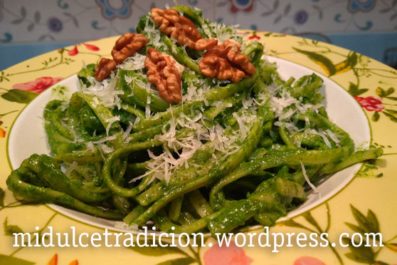 tallarines-pesto-nueces