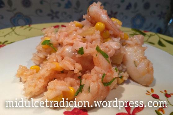 ensalada-fria-langostinos-arroz