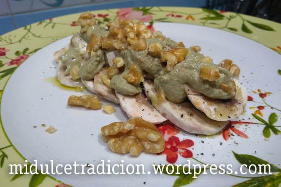 champinones-pesto-nueces
